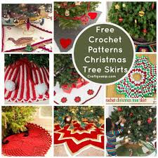 tree skirts free patterns christmas tree skirts crochet