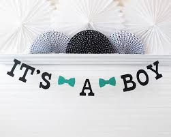 it u0027s a boy banner 5 inch letters with bow ties bowtie