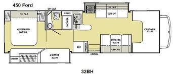 Coachmen Class C Motorhome Floor Plans Used 2013 Coachmen Rv Freelander 32bh Ford 450 Motor Home Class C