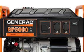 generac power systems 5000 watt 50 hz gp series portable