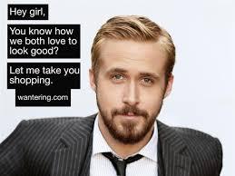 how to look happy happy birthday ryan gosling not really wantering blog