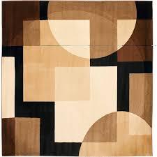 Squares Area Rug Safavieh Deco Elaine Square Area Rug Black Multi Colored 7