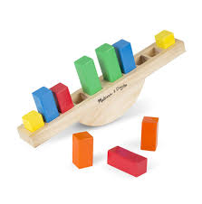jeux en bois pour enfants balance chiffres bois melissa and doug jouet bois éducatif