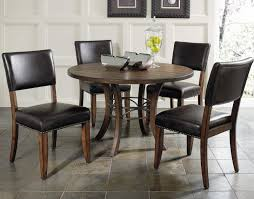 parson dining room chairs hillsdale cameron 5pc round metal ring dining room set w parson