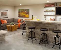 kitchen and living room design ideas bar open concept kitchen living room with wrap around bar design