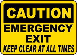 keep away signs keep area clear signs keep aisle clear signs