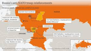 russia map after division russia prepared for us tanks in eastern europe europe news and