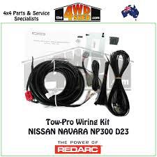 tow pro elite package nissan navara np300 d23 redarc