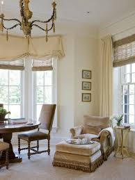 window treatments for living room and dining room interior window