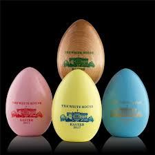 2017 wooden white house easter egg new annual collection