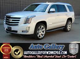 lexus winnipeg used used 2016 cadillac escalade luxury for sale in winnipeg manitoba