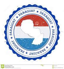 Paraguayan Flag Paraguay Map Cartoon Vector Cartoondealer Com 8930909