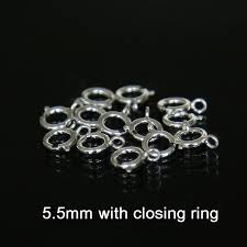 Silver Findings For Jewelry Making - compare prices on silver spring clasps online shopping buy low