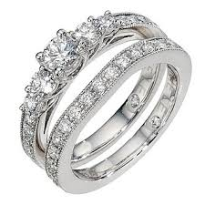 engagement and wedding ring set bridal sets ernest jones