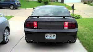 2007 Black Mustang Sequential Taillights 2007 Mustang Gt Cs Youtube