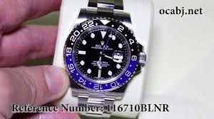rolex oyster perpetual gmt master ii 116710blnr blue and black