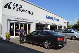 audi dealership inside craig arch arch automotive tire review magazine