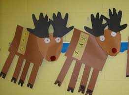 Kids Reindeer Crafts - 139 best christmas theme reindeer images on pinterest christmas