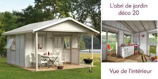 cabane jardin pvc abri déco 20a grosfillex en vente sur oogarden