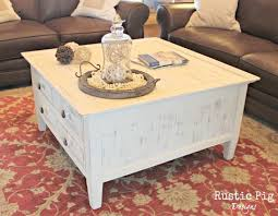 Cottage Coffee Table Best Table Beach Cottage Decorating Coffee Painted For Style Plan