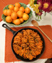 how to make sweet potato for thanksgiving sweet potato u0026 cauliflower mash more healthy recipesthefitfork com