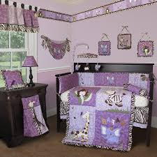 Purple Nursery Bedding Sets by Lovely Baby Girl Room Purple With Bedding Set Goodhomez Com Ideas