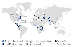 Lebanon On World Map by Microfinance Credit Suisse