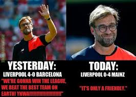 Liverpool Memes - liverpool fans yesterday and now soccer memes goal91