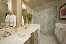 bathroom classy bathroom decorating idea with marble bathtub and