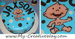 my creative way brown and blue baby shower ideas modern baby boy