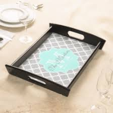 monogrammed serving trays monogram serving trays food trays zazzle
