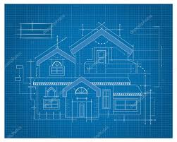 wooden house blueprint u2014 stock vector tantoon 32897387
