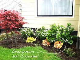 front yard landscaping ideas with circular driveway garden