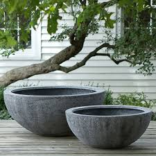 large concrete planter large dish garden planters best 25 large concrete planters ideas on