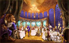 Reservations For Be Our Guest Restaurant In New Fantasyland At - Beauty and the beast dining room