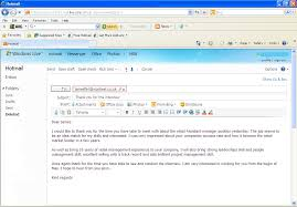 how to get a job email thank you note after interview sample