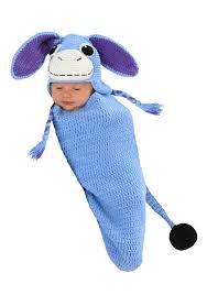 Eeyore Halloween Costume Ellis Donkey Newborn Bunting