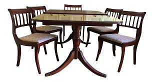 henredon heritage regency style dining table and chairs set of 7