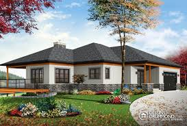 home plans with walkout basements dé du plan de maison unifamiliale w3138 villas lake house