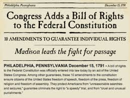 Bill Of Rights Worksheet Answers Understanding The Constitution