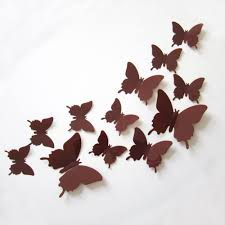 3D Butterfly Wall Decor Baby Luna Boutique