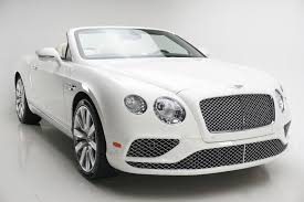 2017 white bentley convertible 2017 bentley continental gt v8 stock hc061557 for sale near