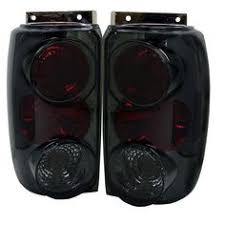 1996 ford explorer tail light assembly ford explorer one piece projector headlights ccfl halo black