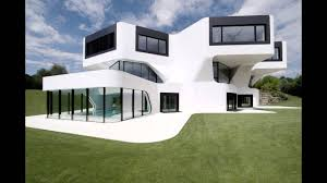 beautiful all white house with pool youtube