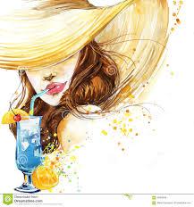 cocktail wineglass stock illustration image 70316696