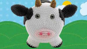 Animal Toilet Paper Holder by Simon Cow Amigurumi Crocheted Toilet Paper Cover Youtube