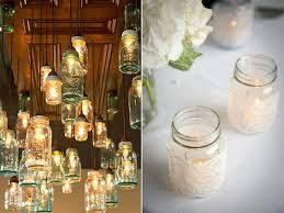 ideas for decorating jars for wedding wedding corners