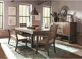 107721 coaster atwater industrial dining set