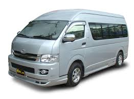 toyota hiace vip bangkok to pattaya bus van from gbp 3