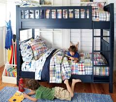 camp twin over twin bunk bed pottery barn kids